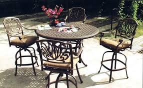Patio Chairs Bar Height Idea Patio Furniture Bar Height And Outdoor Bar Height Table And