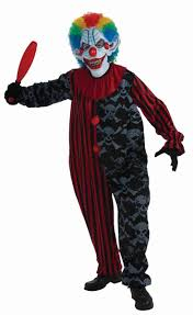 scary childrens halloween costumes creepo the clown costume circus gone wrong theme halloween