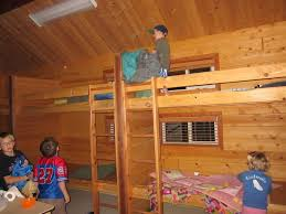 bedroom chic ceiling dark brown finish laminated wooden bunk bed