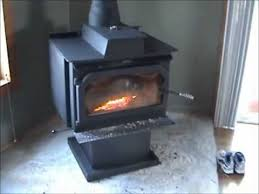 wood burning stove circulating fan air circulation youtube