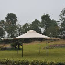 Patio Canopies And Gazebos by Outsunny 10 U0027x10 U0027 Gazebo Canopy Party Tent Outdoor Sun Shelter