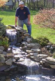 build a backyard waterfall in one weekend garden pond and water