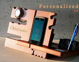 Desk Valet Charging Station Phone Valet Etsy