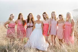 different bridesmaid dresses same color archives weddings by lilly