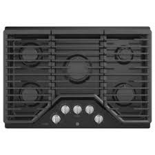 Ge Downdraft Gas Cooktop Ge Profile 30 In Gas Cooktop In Stainless Steel With 5 Burners