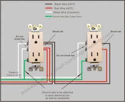 electrical outlet wiring diagram model split