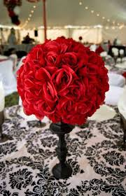 Black And Red Party Decorations Red And Black Centerpieces Ideas For Weddings
