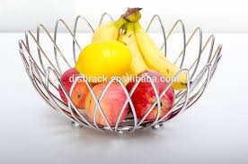 where to buy fruit baskets chrome metal fruit basket with banana holder buy fruit basket