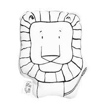 linus the lion soft toy pillow u2013 t h e w i l d modern apparel