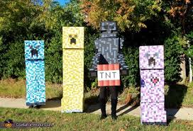 Minecraft Enderman Halloween Costume Minecraft Creepers Enderman Costume Photo 2 3