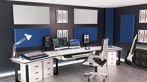Glossy White Desk by Sqm Glossy White Badwave Acoustic Panels Store