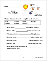 planets solar system worksheet label page 2 pics about space