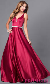 long prom dresses and formal pageant gowns promgirl