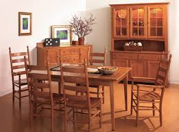 Diningroom Furniture Lapps Amish Furniture - Shaker dining room chairs
