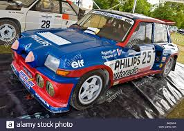 renault 5 turbo group b 1983 renault 5 maxi turbo group b rally car in the paddock at