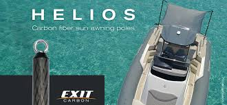 Awning Boat Exit Carbon Sailing Worry Free Carbon Boat Gangways Carbon