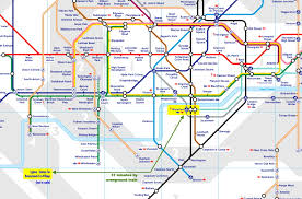 Expo Line Map London Underground Map Jubilee Line London Map Tube Transport For
