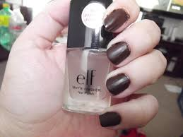 jwhackers elf matte finisher clear nail polish review pertaining