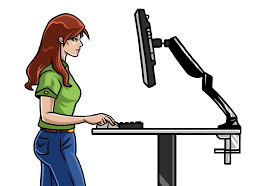 Adjustable Height Standing Desk by Get Your Ergo Elements Standing Desk Dialed In To The Perfect