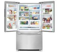 Counter Depth Stainless Steel Refrigerator French Door - frigidaire french door bottom mount refrigerator ideas
