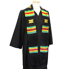 kente graduation stoles multi color graduation stole cad something