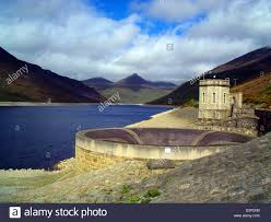 the picture shows the dam silent valley managing the water supply