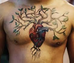 tree chest tattooshunt com