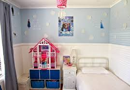 bedroom pink bedroom color for kids added with wall paintings of