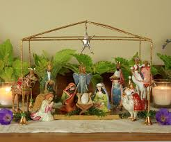Home Interiors Nativity Set Patience Brewster Wooden Duck Shoppe
