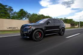 jeep cherokee srt8 velgen wheels vmb5 satin black 22x10 5