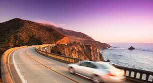 Usa West Coast Road Trip Maps by Pacific Coast Highway West Coast America Road Trip California