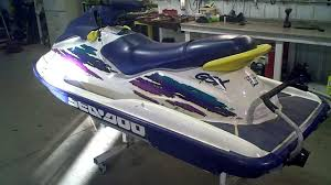 1996 sea doo running gsx 787 800 97 7 hours lot 1061a youtube