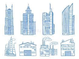 bureau de dessin en b iment bâtiment moderne différent avec des bureaux l industrie et l