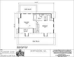 hearthstone log and timber frame homes pioneer model
