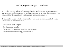 sr manager cover letter project manager cover letter it proj mgr