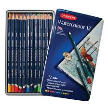 laver siege auto derwent watercolour packs