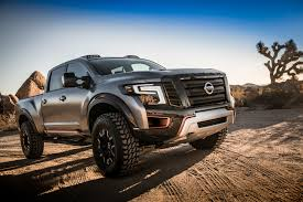 nissan truck 2016 nissan unveils the titan warrior an off roading concept with