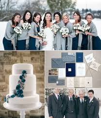 Blue Christmas Wedding Decorations by Top 6 Classic Winter Wedding Color Combo Ideas U0026 Trends Grey