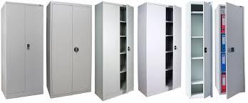 armadietto ufficio armadio da ufficio a pavimento a porte battenti in acciaio