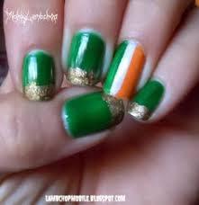 shamrock nails nails pinterest