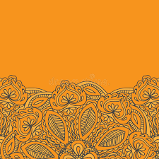 mehndi invitation cards henna mehndi card template mehndi invitation design element for
