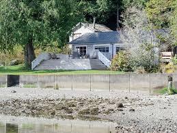 hood canal 1930 u0027s beach cabin 315 u0027 of oyster rich waterfront