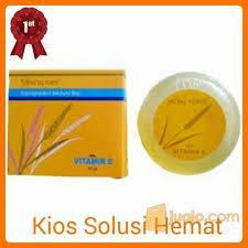 Sabun Vitamin E metal fortis sabun padi beras transparent soap with vitamin e