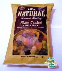 Cape Cod Russet Potato Chips - utz natural gourmet medley review munchies blog