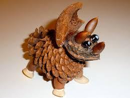 make learning fun pine cone animals