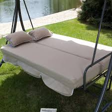 3 Person Swing Cushion Replacement by Patio Furniture 31 Imposing Patio Swing And Bed Photo Ideas