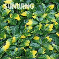 12pcs 50x50cm artificial leaves for decoration decorative plastic