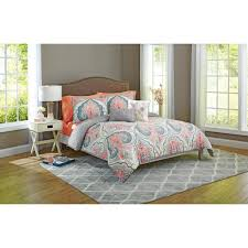 Coral And Teal Bedding Sets Bed Comforters Gray Ruffle Bedding Teal And White Bedding Sets