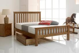 Wooden King Size Bed Frame Wooden Bed Frames The Oak Bed Store