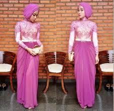 model baju muslim modern model baju kebaya brokat muslim modern manda putri personal